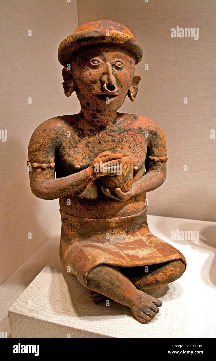 Seated Female Ancestor  1st–4th century  Mexico Mesoamerica Nayarit - Stock Image