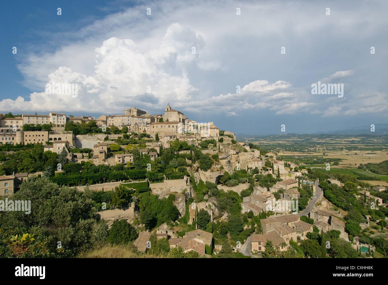 Provencal village of Gordes - Stock Image