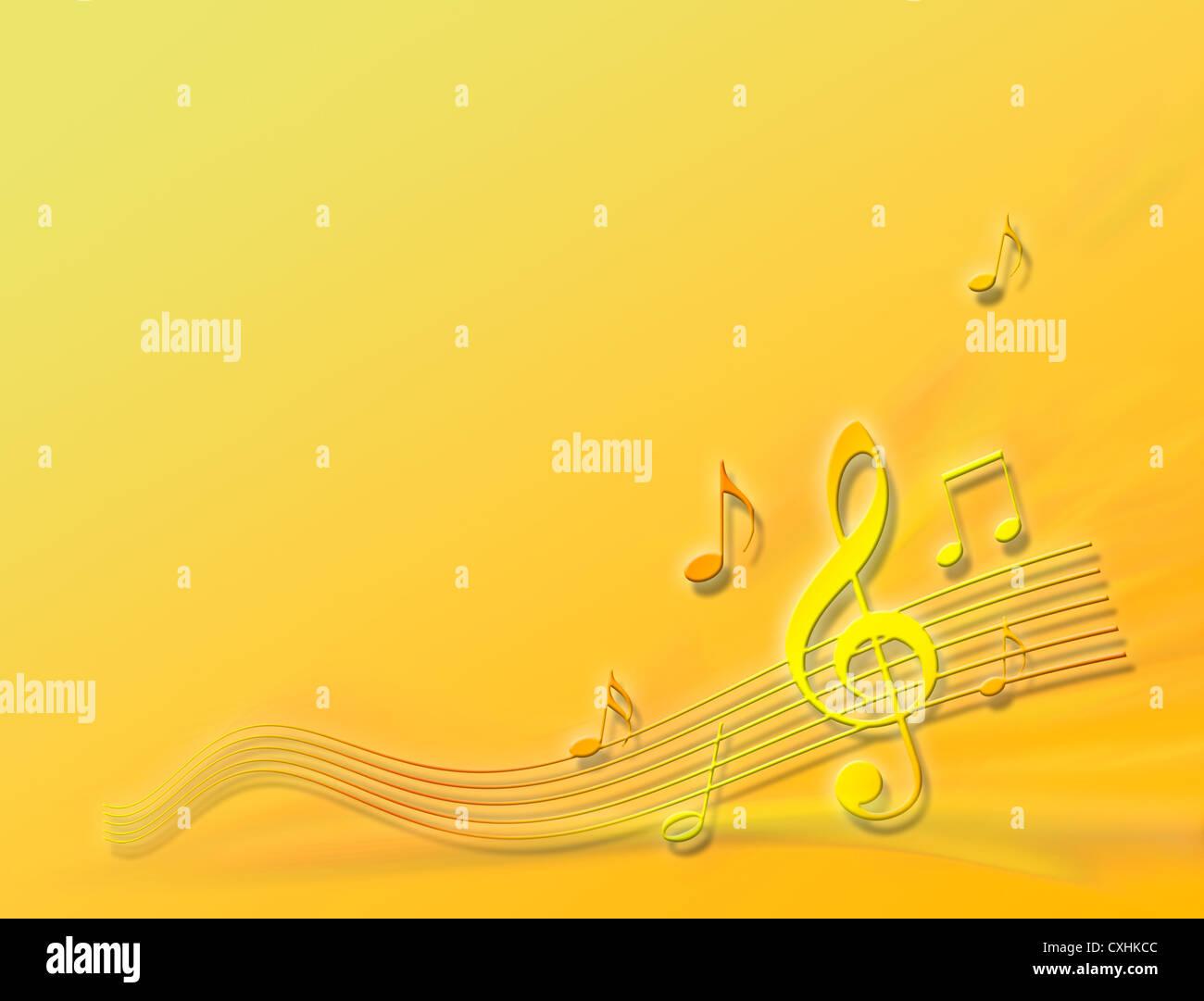 orange tune - Stock Image