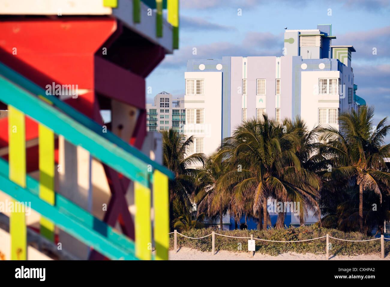 art deco architecture of miami beach stock photo 50792506 alamy