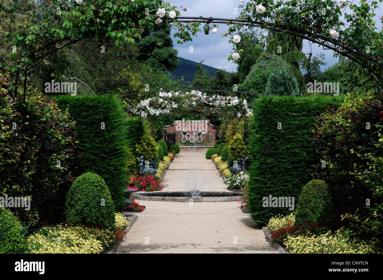arch archway rose climbing rambler climber national garden ... on colonial garden designs, shrub garden designs, stone flower garden designs,