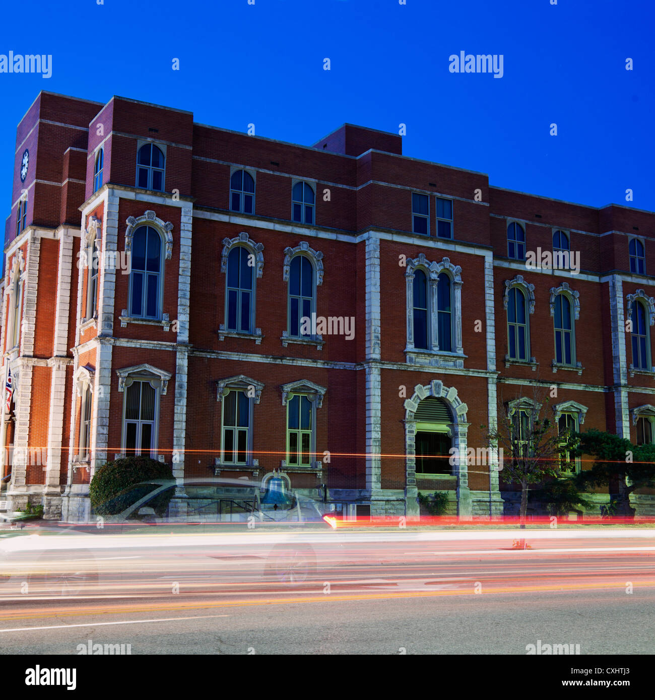 Old courthouse in the center of Defiance - Stock Image