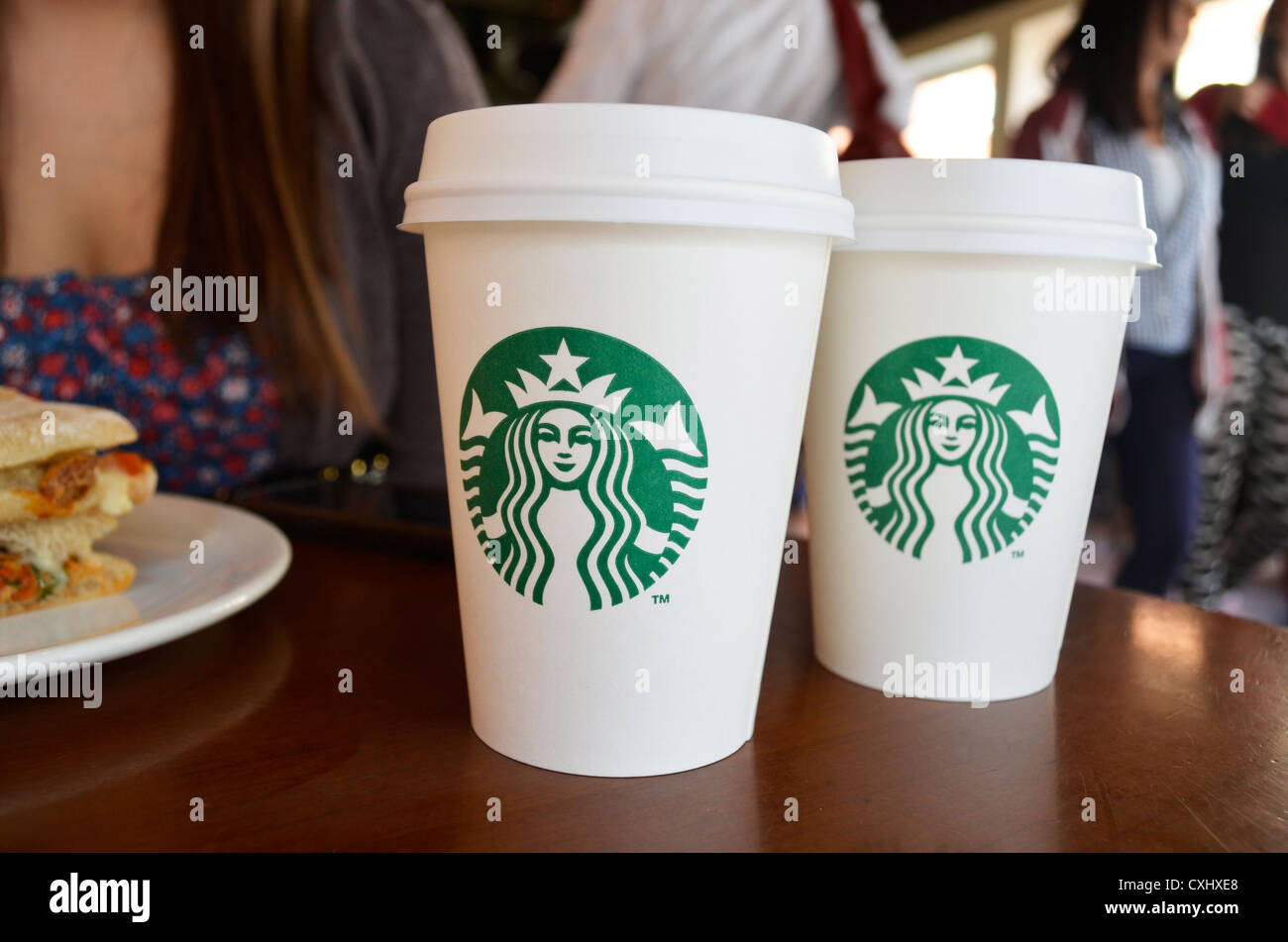 Starbucks Cups Stock Photos & Starbucks Cups Stock Images - Alamy