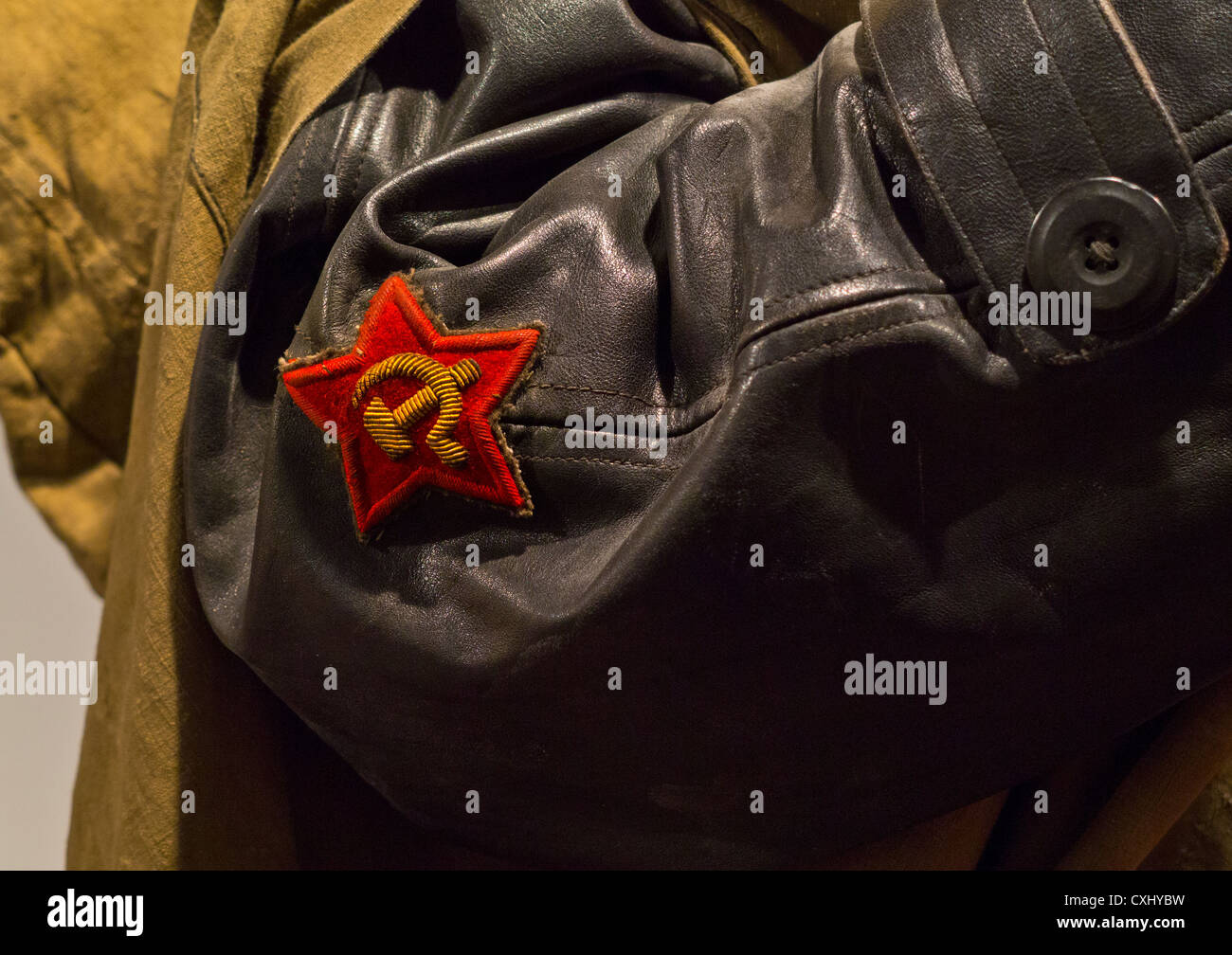 38e38a77f Hammer And Sickle Badge Stock Photos & Hammer And Sickle Badge Stock ...