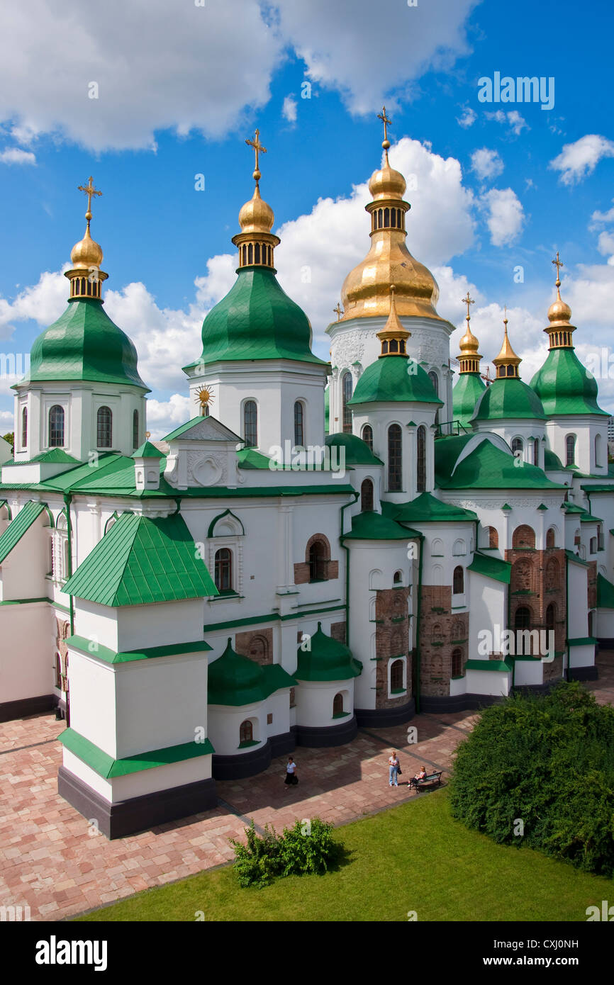 St. Sophia Cathedral in Kiev, Ukraine. - Stock Image
