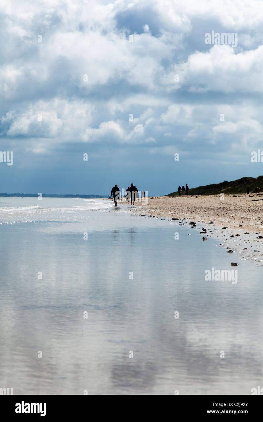 Utah Beach, Sainte-Marie-du-Mont, Normandy, France Stock Photo