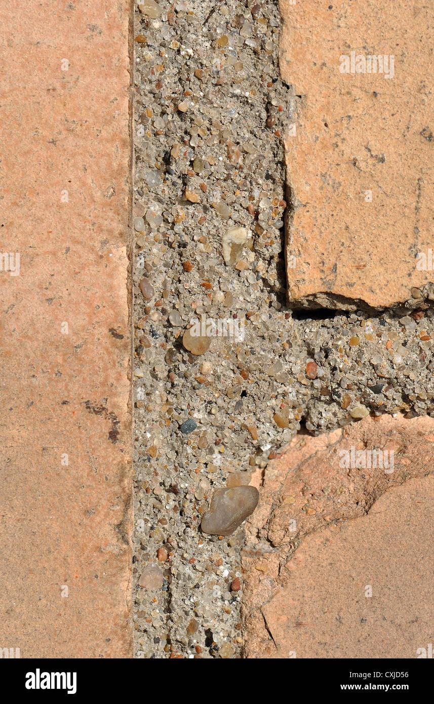 Brickwork closeup - Stock Image