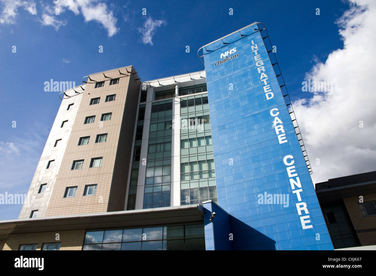 The Oldham Integrated Care Centre, Oldham, Greater Manchester, England , UK - Stock Image