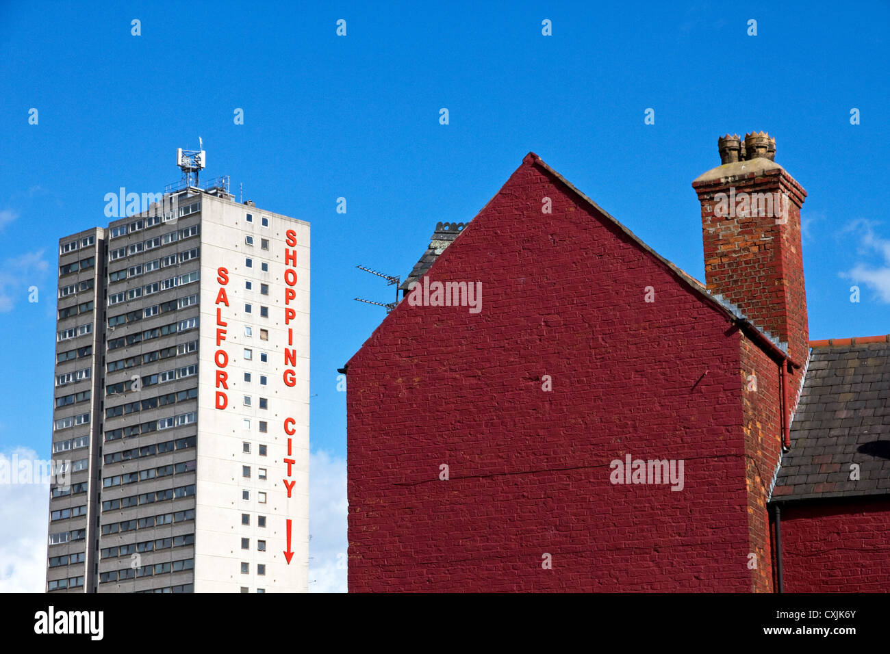 Salford Shopping City centre, Salford, Greater Manchester, England, UK - Stock Image