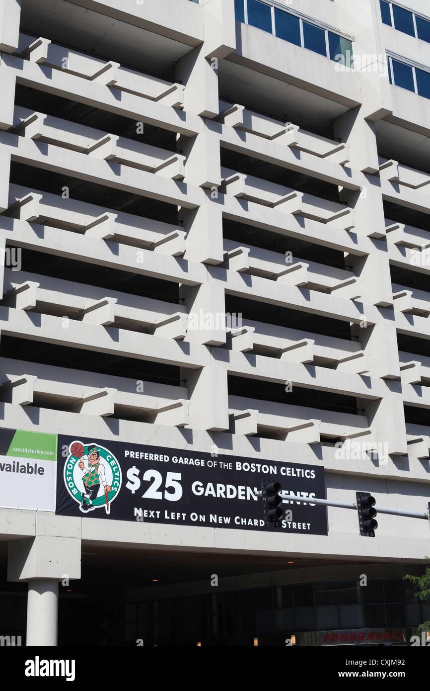 Government Center Garage In Boston Endorsed By The Boston Celtics