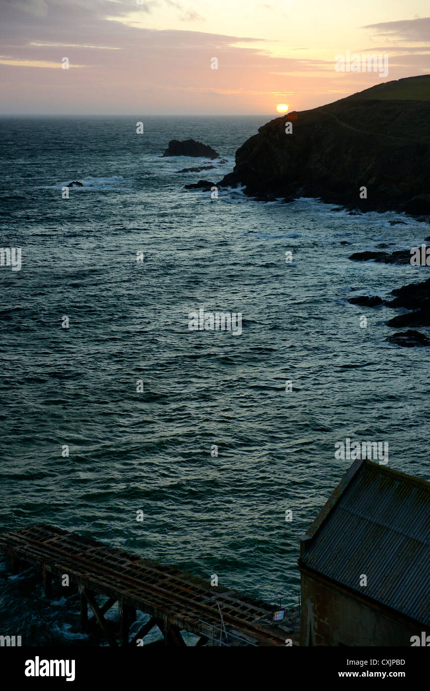 The Lizard, Cornwall, UK's most southerly point. - Stock Image
