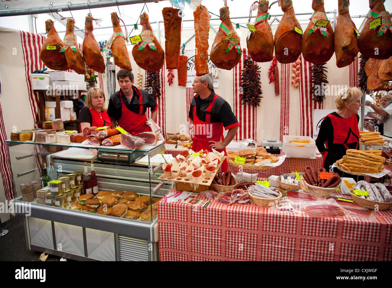 Ham Fair. - Stock Image