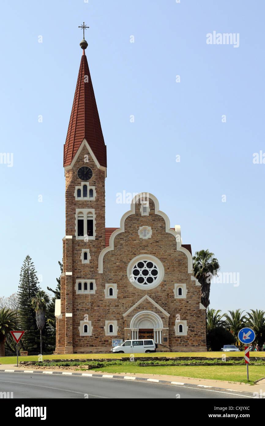 Christ Church (or Christuskirche) in Windhoek, Namibia - Stock Image