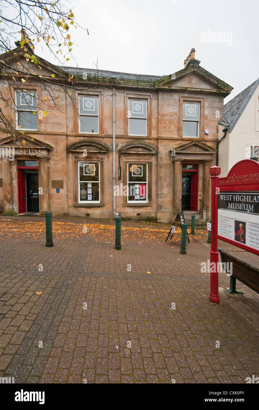 The West Highland Museum Cameron Square Fort William Highland Scotland Stock Photo