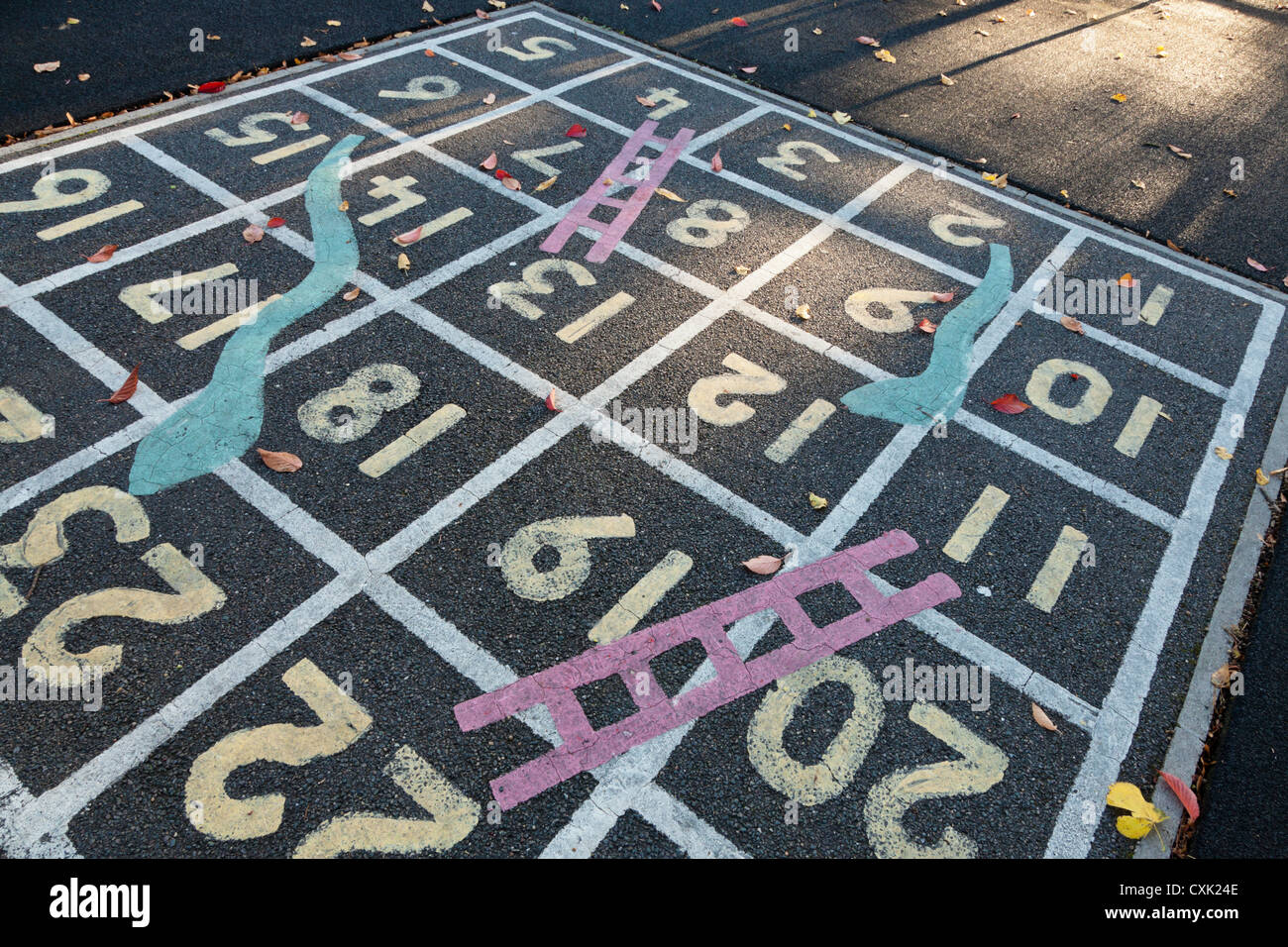 Snakes And Ladders Playground High Resolution Stock Photography And Images Alamy
