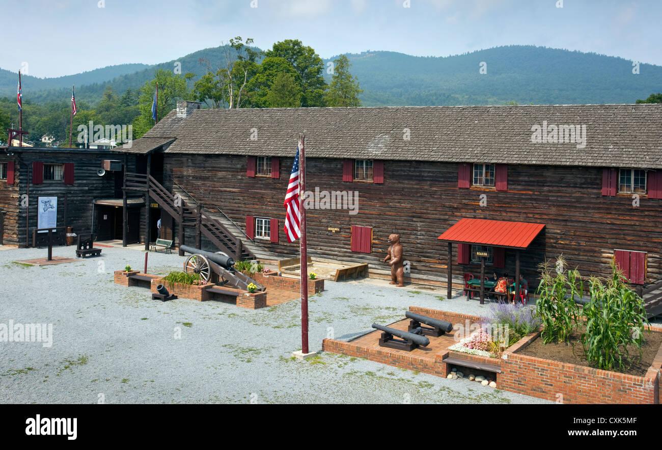 Fort William Henry Stock Photo