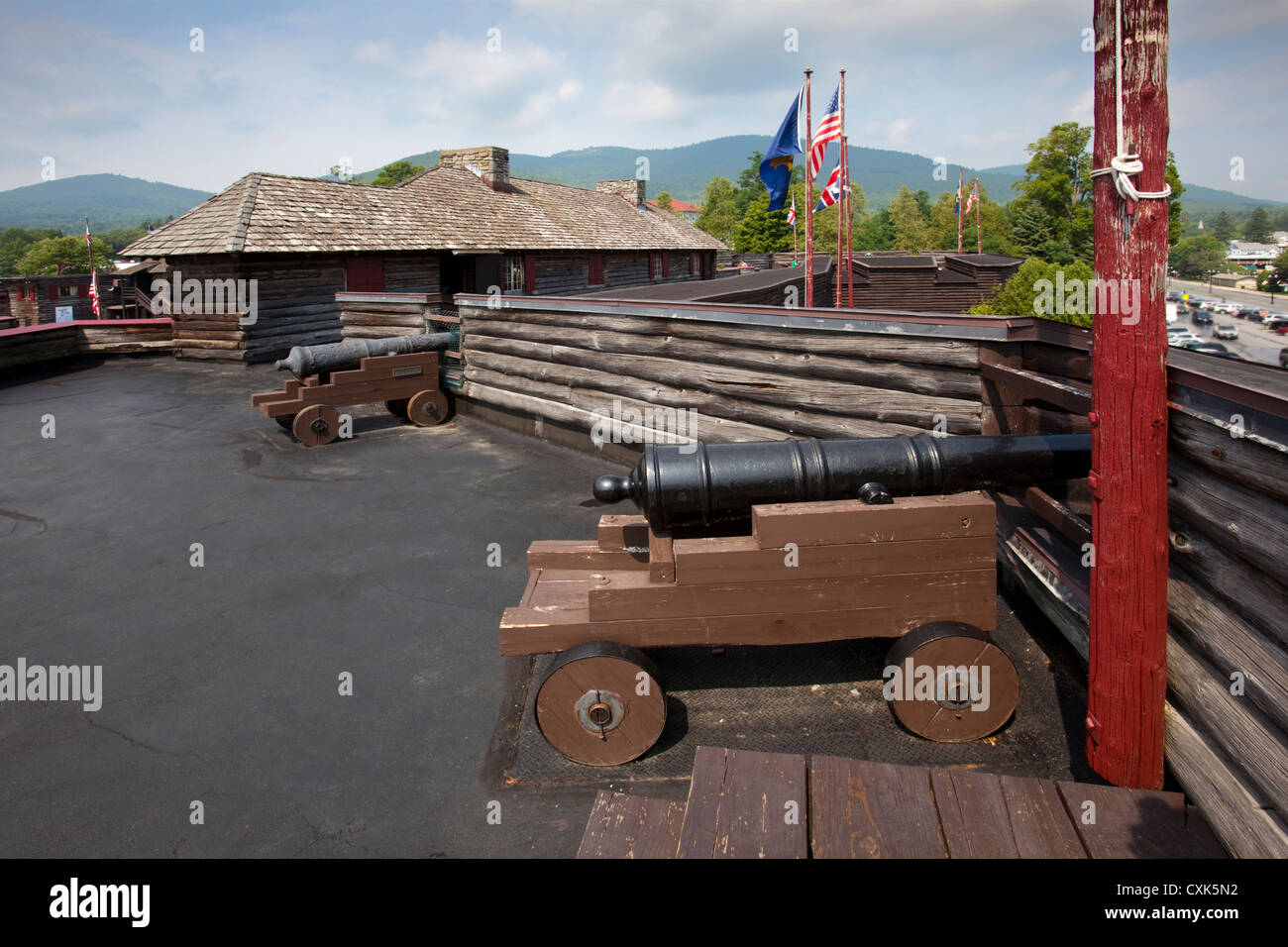 Fort William Henry Stock Photo