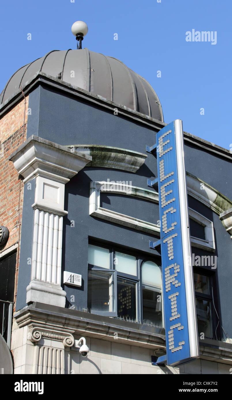 The Electric Cinema, Portobello Road, Notting Hill, London W11 - Stock Image