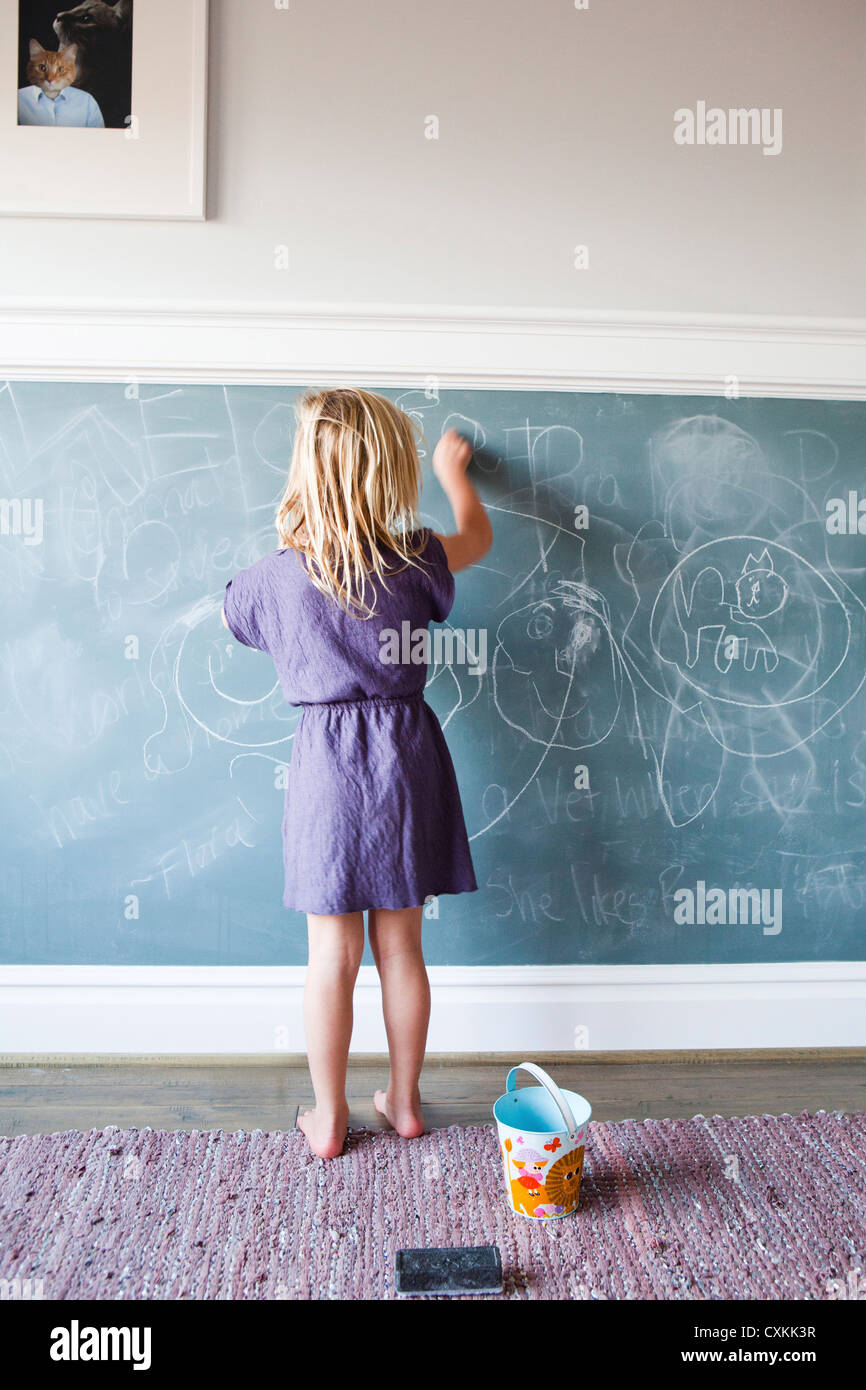 Chalkboard Wall Stock Photos & Chalkboard Wall Stock Images - Alamy