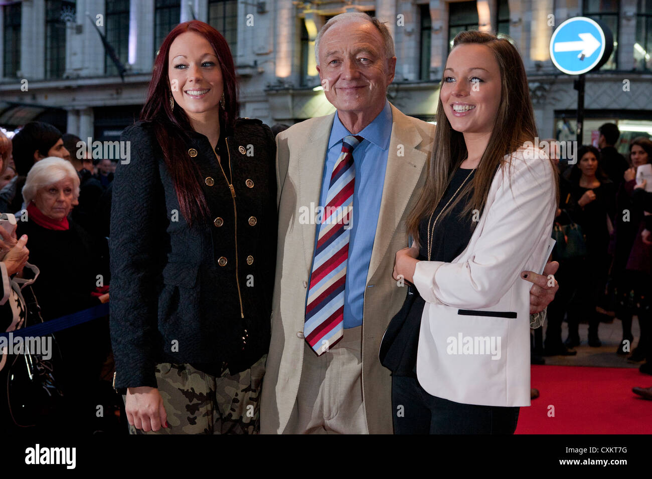 London, UK, 24/09/2012,  Ken Livingstone was attending 'Let It Be - Press Night ' at the Prince of Wales - Stock Image