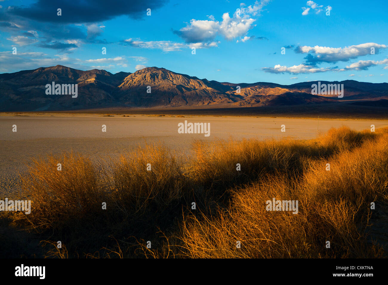 Death Valley National Park at sunset - Stock Image
