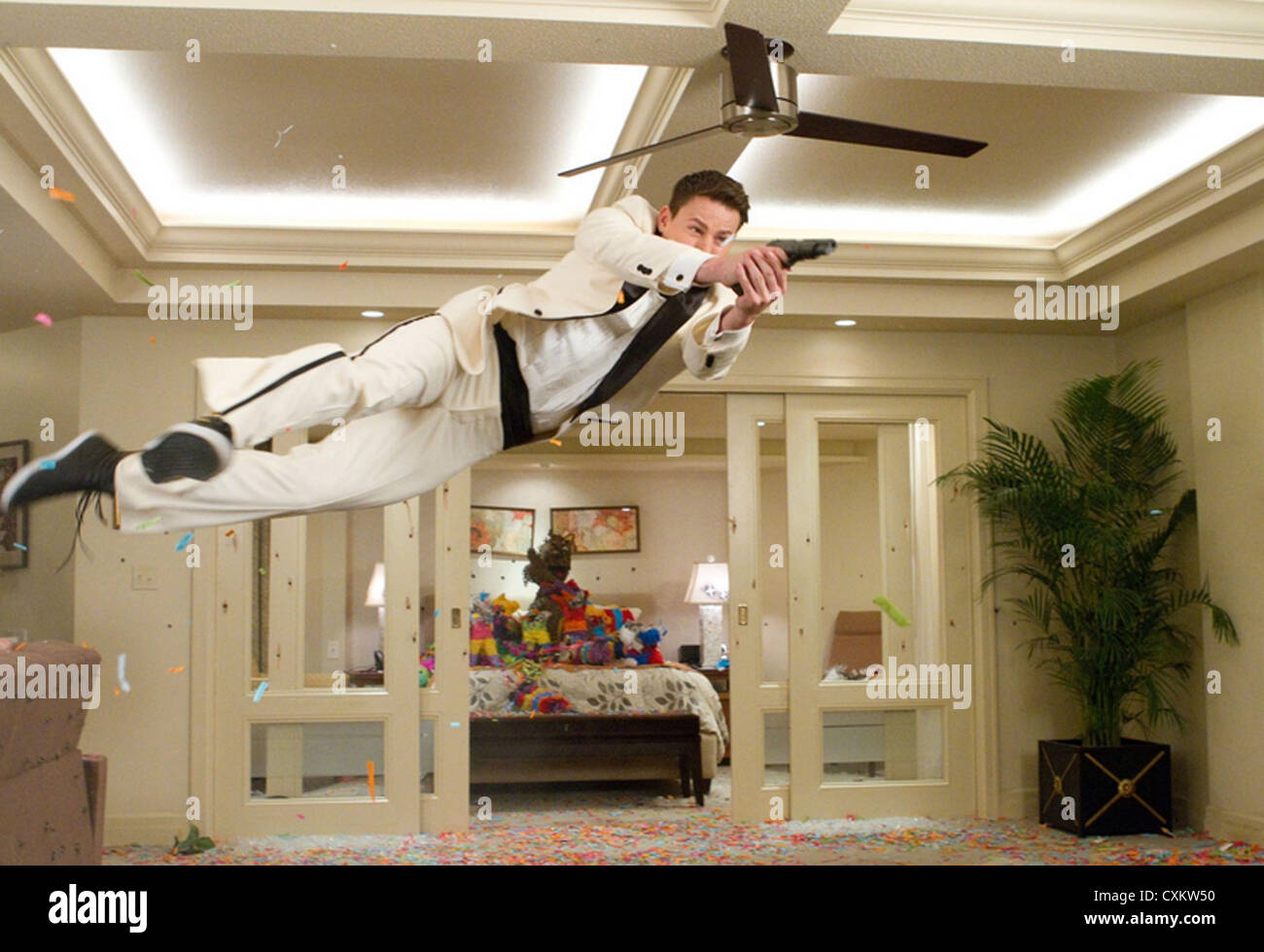 21 JUMP STREET  2012 Columbia Pictures film with Channing Tatum - Stock Image