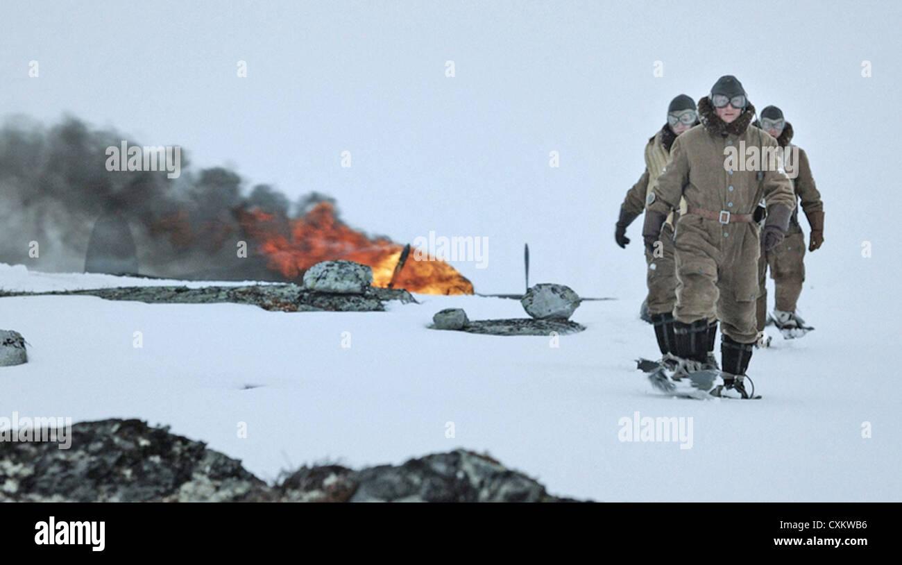 INTO THE WHITE 2012 Zentropa International Norway film - Stock Image