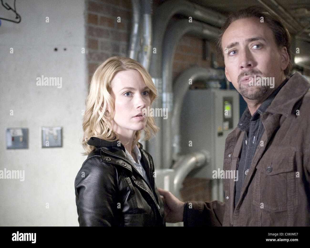 SEEKING JUSTICE (aka Justice) 2011 Endgame Entertainment film with January Jones and Nicholas Cage - Stock Image