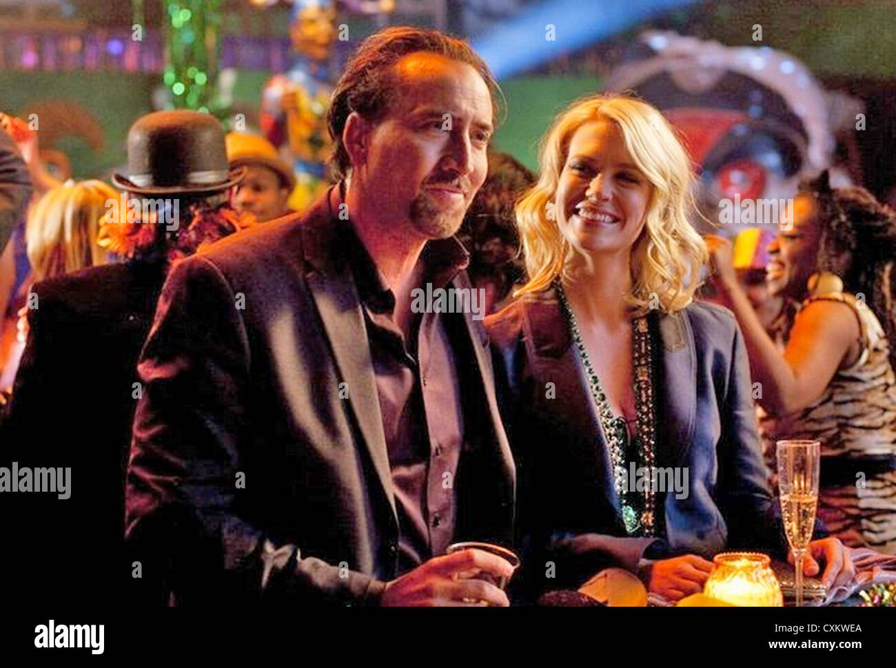 SEEKING JUSTICE (aka Justice) 2011 Endgame Entertaiment film with January Jones and Nicholas Cage - Stock Image