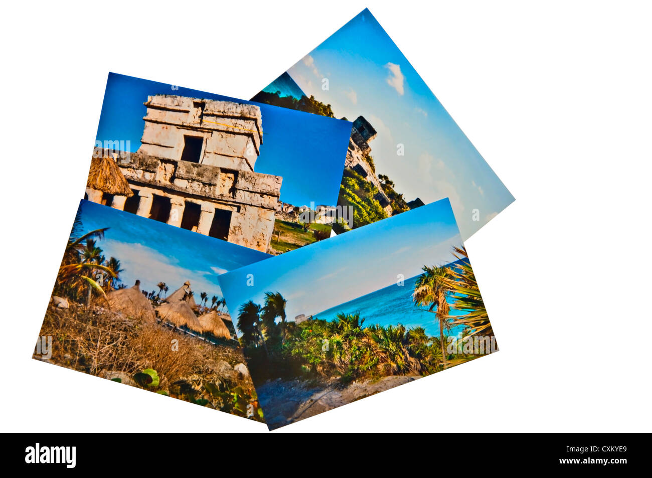 Travel Photos from Mexico, Chichen Itza, Mayan Ruins. - Stock Image