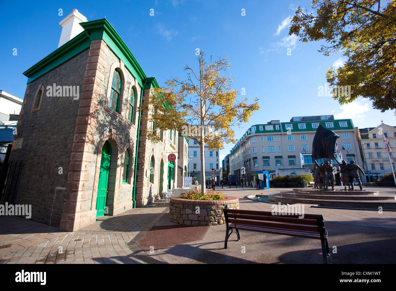 Liberty Wharf, St Helier, Jersey, Channel islands, UK - Stock Image