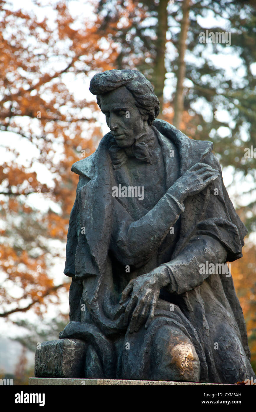 Zelazowa Wola, historical  place,  where was born Fryderyk Chopin, Poland. Now Museum of Frederic Chopin. - Stock Image