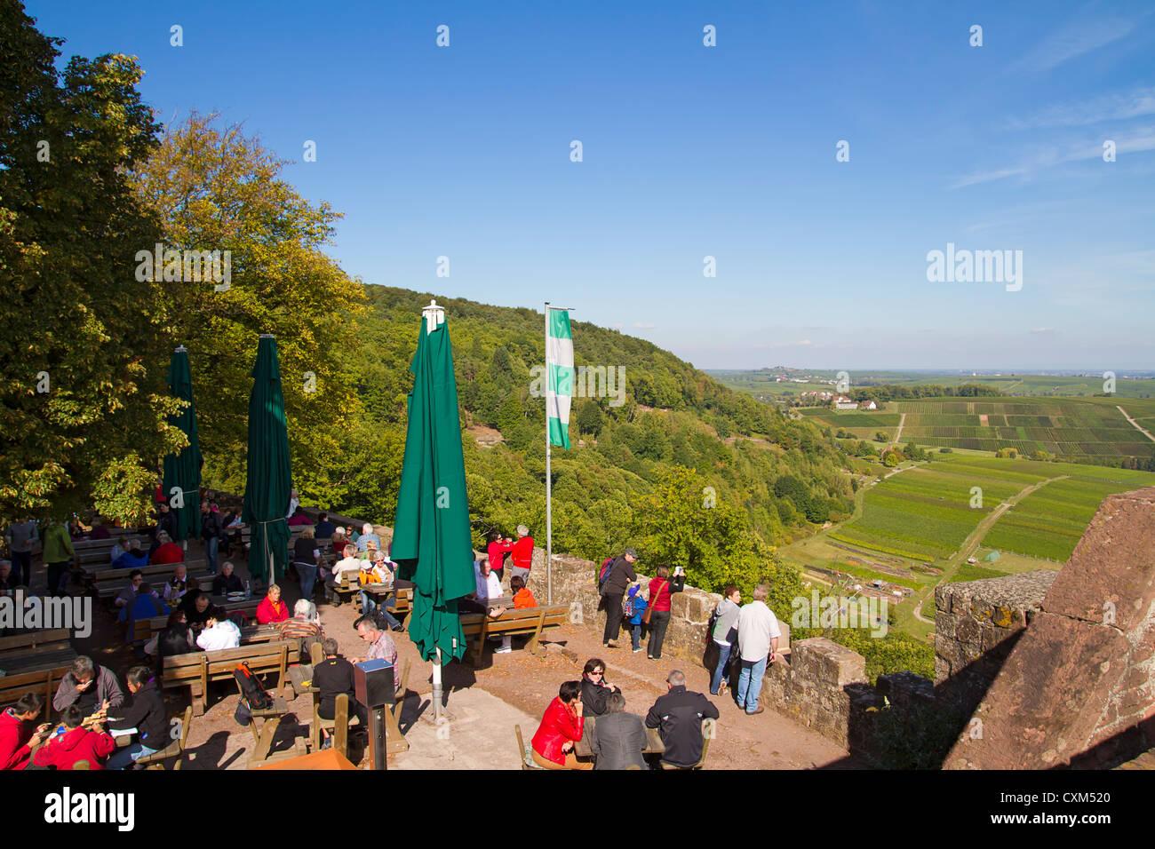 Castle Landeck near Klingenmuenster, Germany Stock Photo
