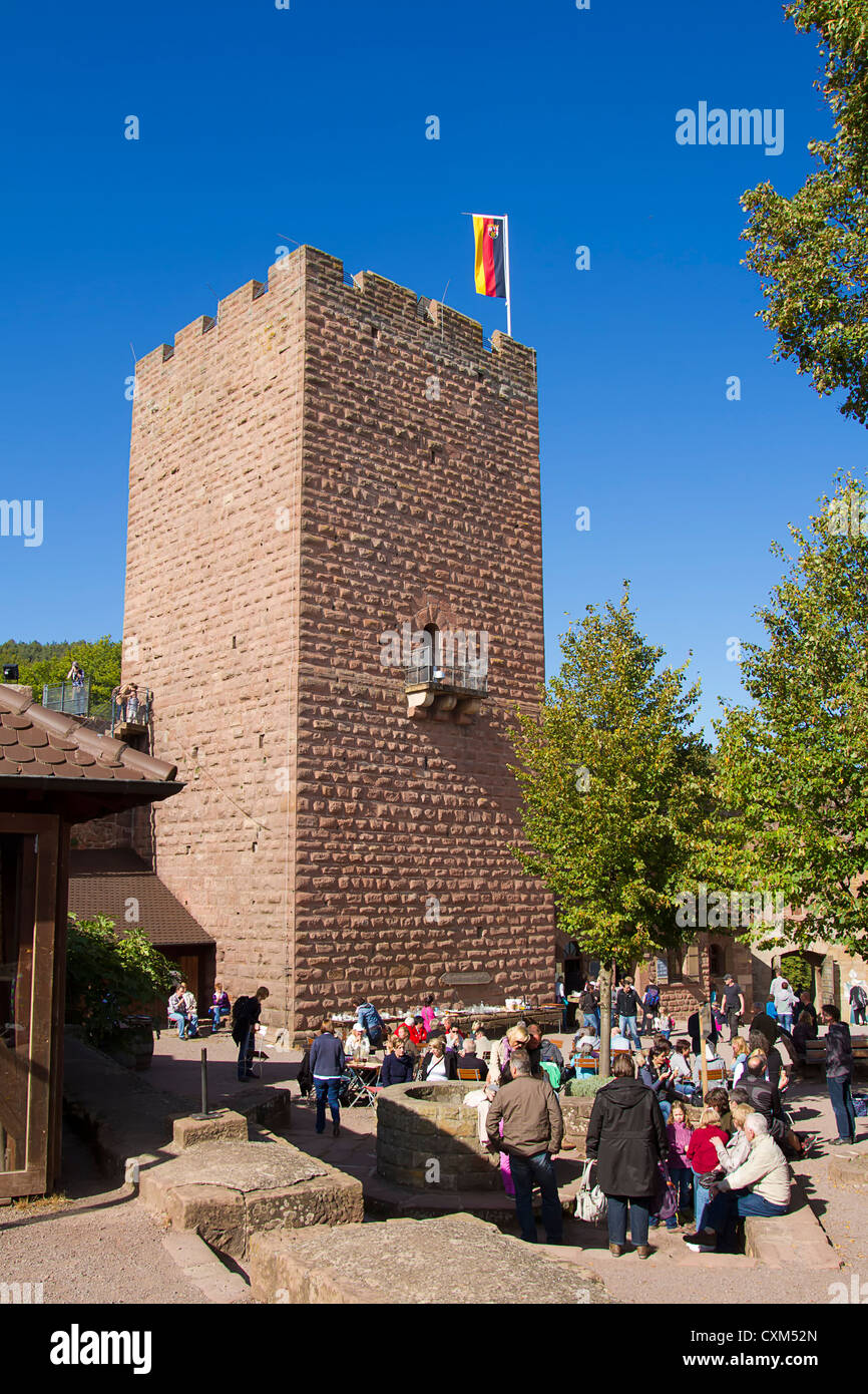 Castle Landeck near Klingenmuenster, Germany Stock Photo
