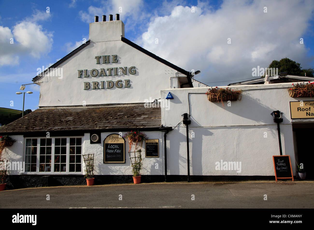 Restaurant Near Bridge And River Exeter