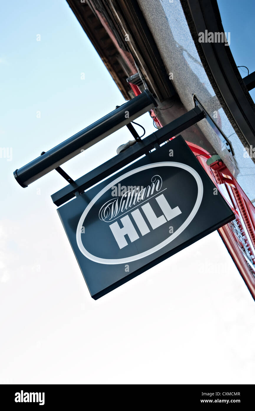 A William Hill Sign - Stock Image