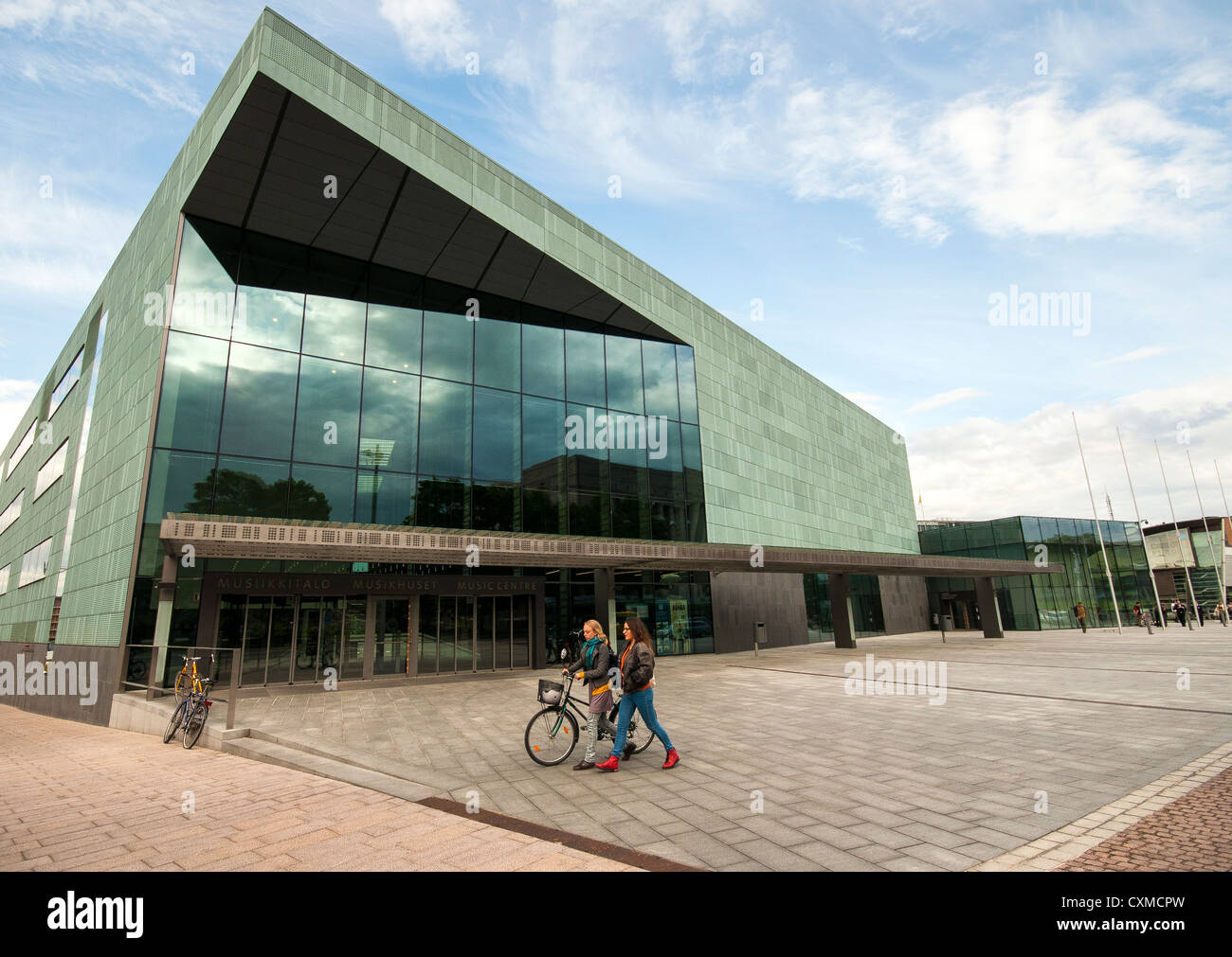 The Helsinki Music Centre and concert hall, Helsinki, Finland - Stock Image