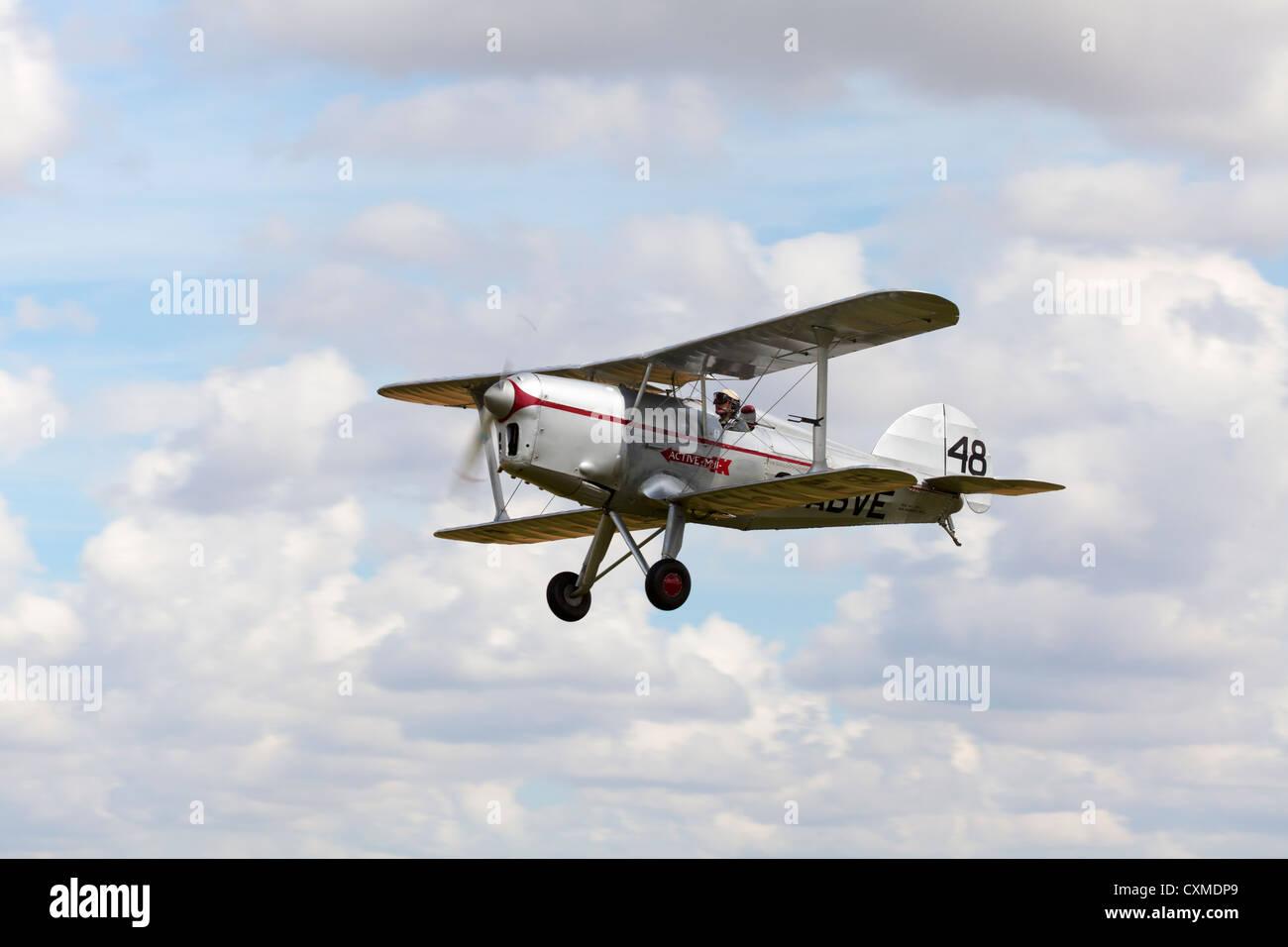 Arrow Active MKII G-ABVE  in flight - Stock Image