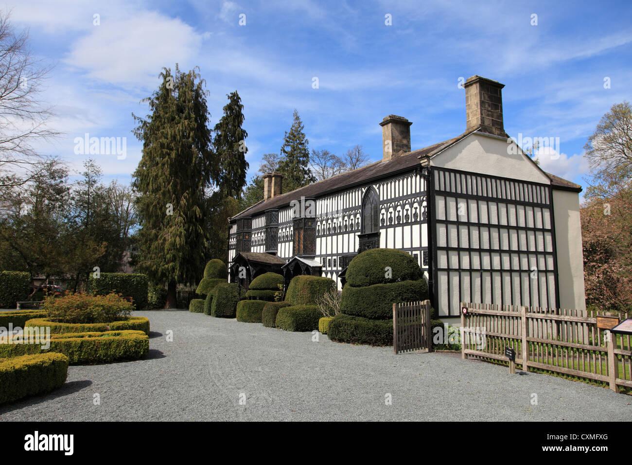Plas Newydd, Museum, Llangollen, Dee Valley, Denbighshire, North Wales, Wales, United Kingdom Stock Photo