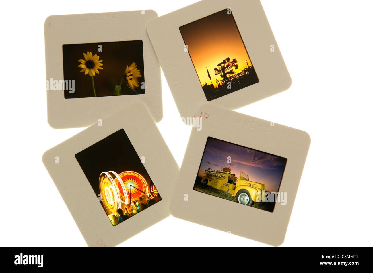 color slides on light table stock photo 50857186 alamy