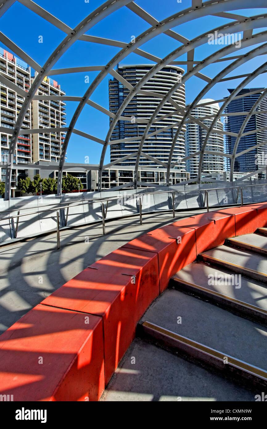 Enter the Webb (Bridge) | Melbourne - Stock Image