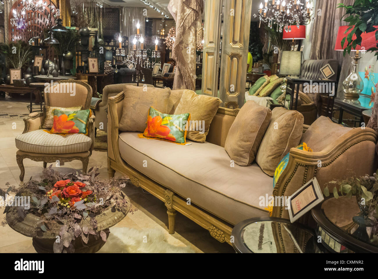new york city ny usa luxury shopping household furniture and