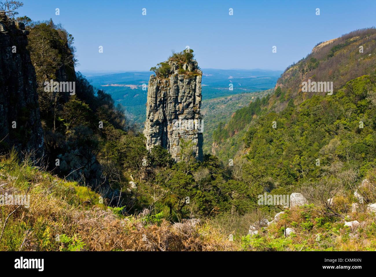 The Pinnacle, Drakensberg  of Transvaal, Mpumalanga ( Transvaal ), South Africa - Stock Image