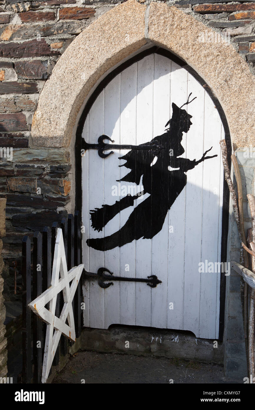 The witchcraft museum at Boscastle, Cornwall. - Stock Image