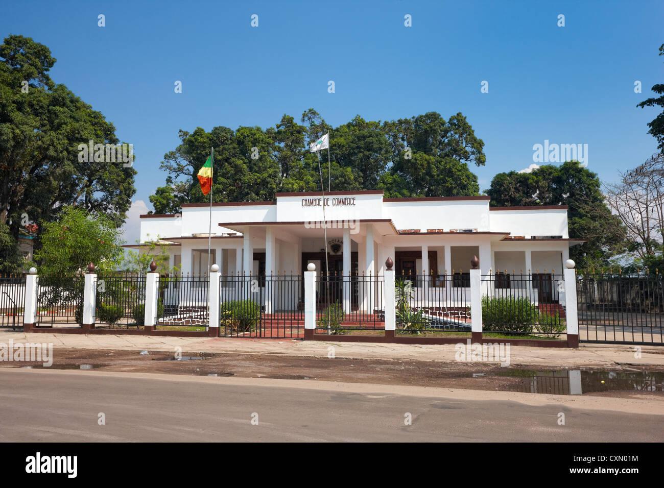 Chambre de Commerce, Brazzaville, Republic of Congo, Africa - Stock Image