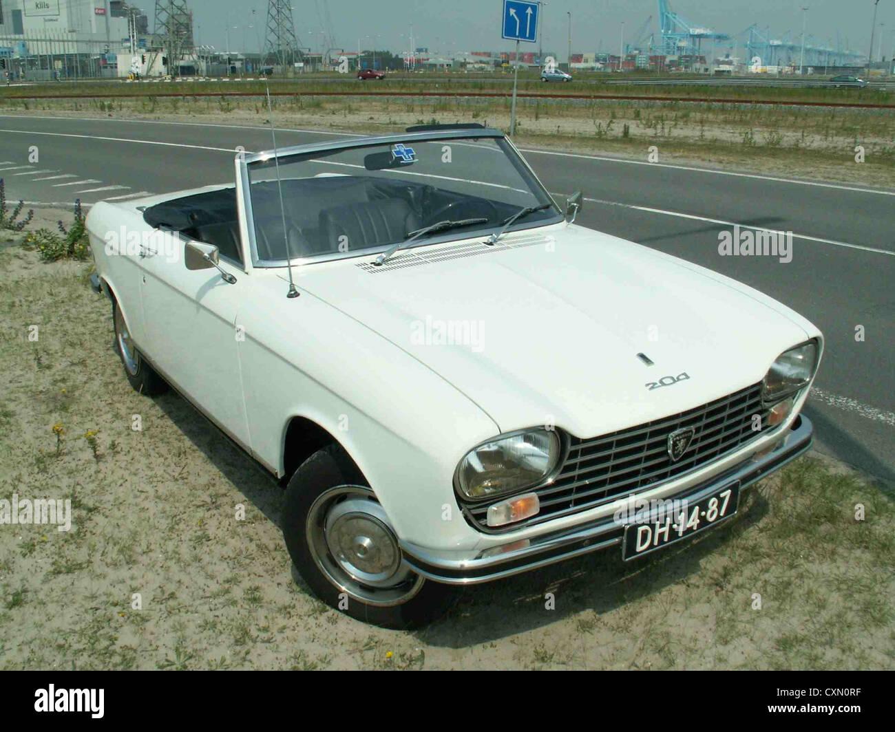 Peugeot 204 Classic Car Stock Photo 50863443 Alamy