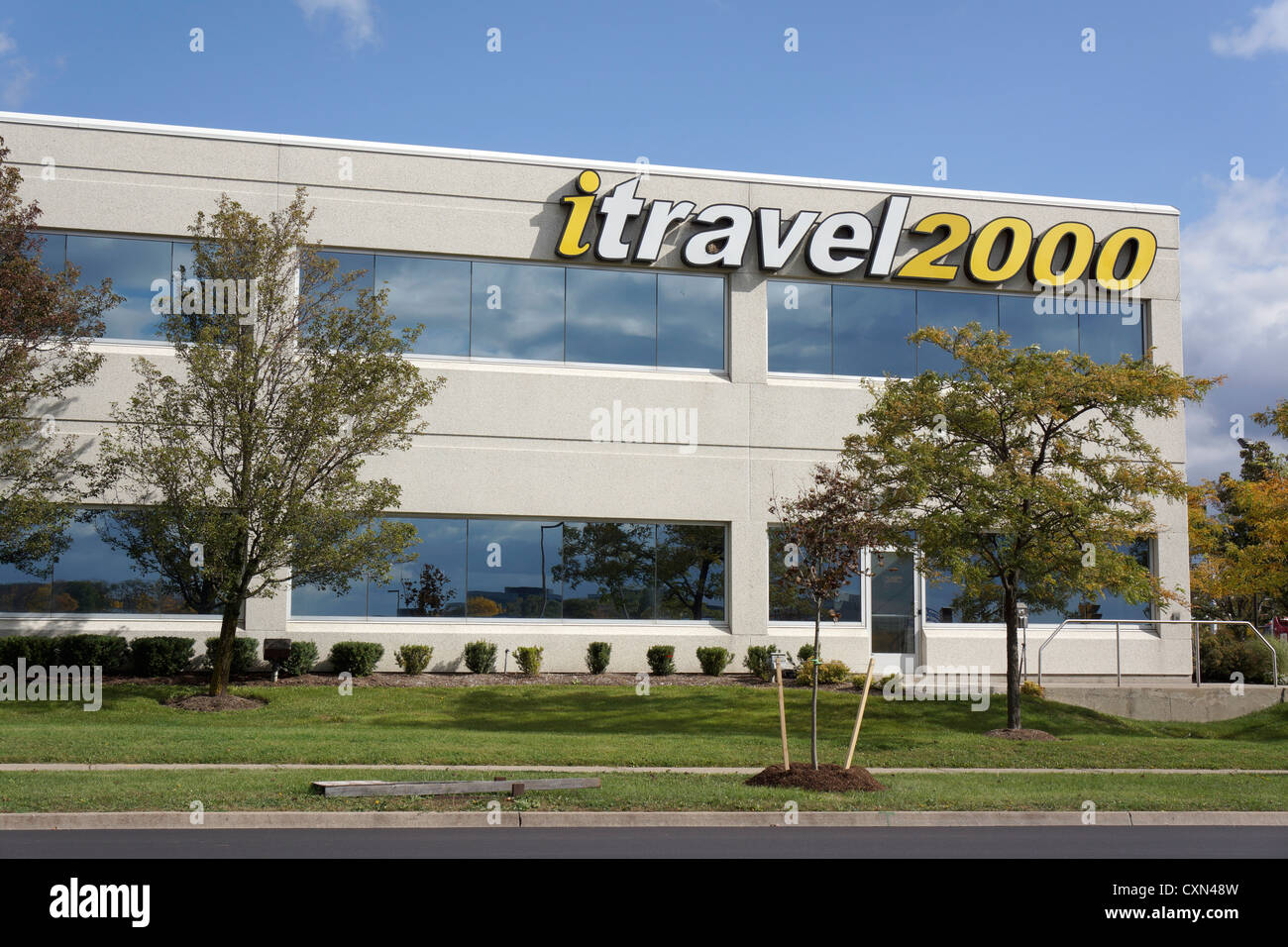 iTravel2000, travel agency office location, Mississauga, Ontario, Canada - Stock Image
