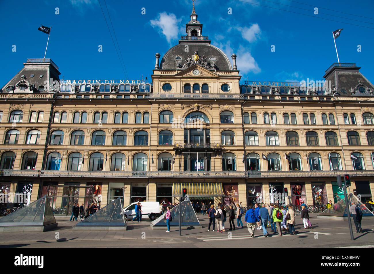 Magasin du Nord department store Kongens nytorv square central Copenhagen Denmark Europe - Stock Image