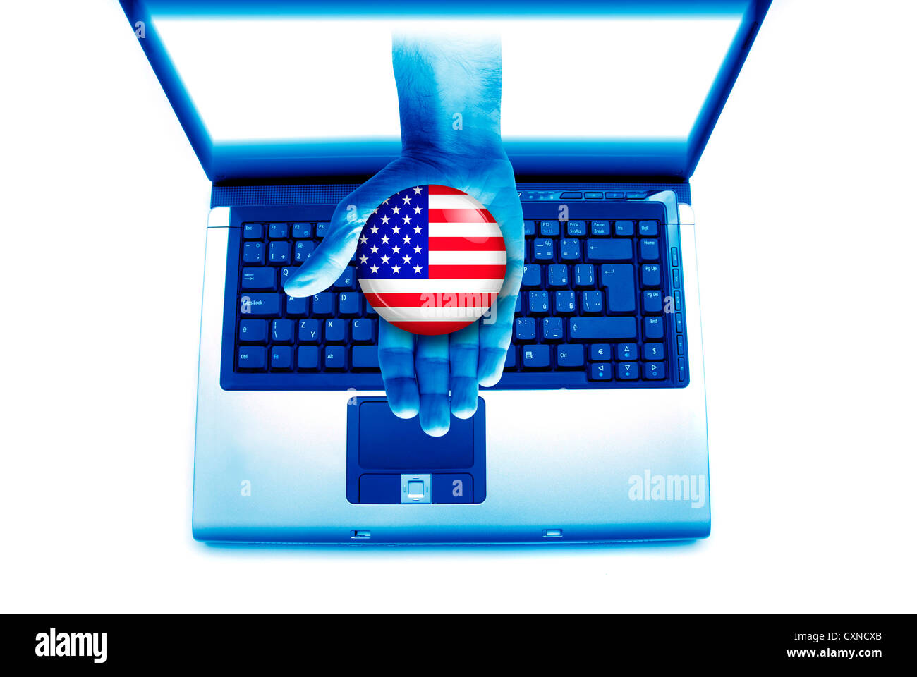US presidential elections concept - Stock Image