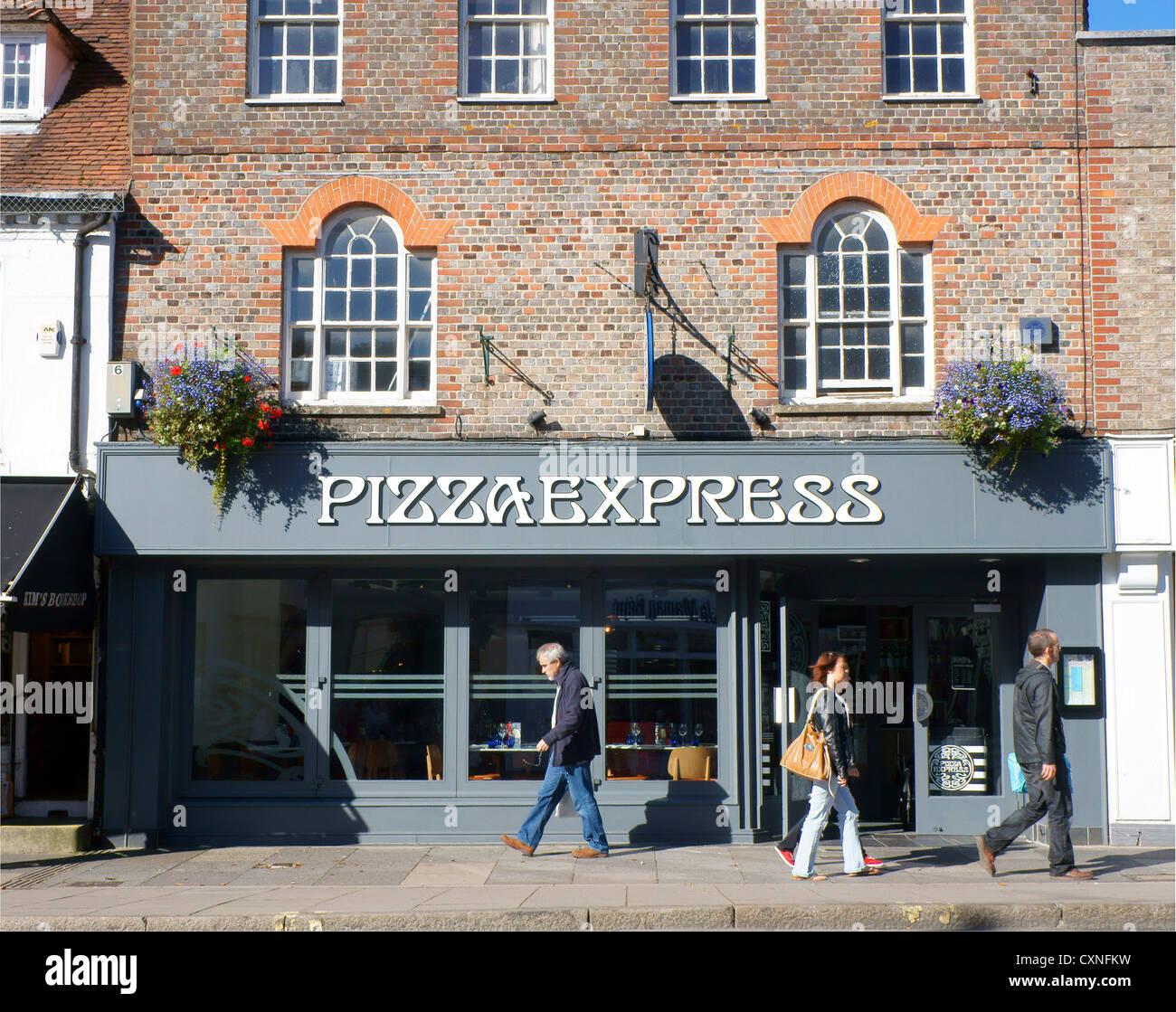 Pizza Express Restaurant In Chichester West Sussex Uk